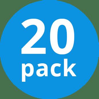 Multipack 20x Osram 66733 ECO 33W 230V G9