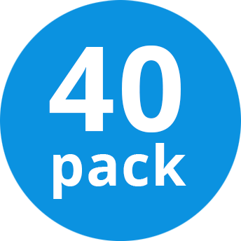 Multipack 40x Philips MASTER TL5 HE 14W/840 1SL/20