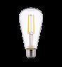 Noxion Lucent Classic LED Filament ST64 E27 6.5W 827 Claire   Blanc Très Chaud - Substitut 60W