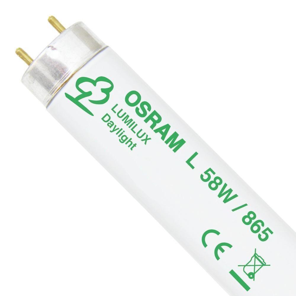 Osram L 58W 865 Lumilux | 150cm - Luz de Día
