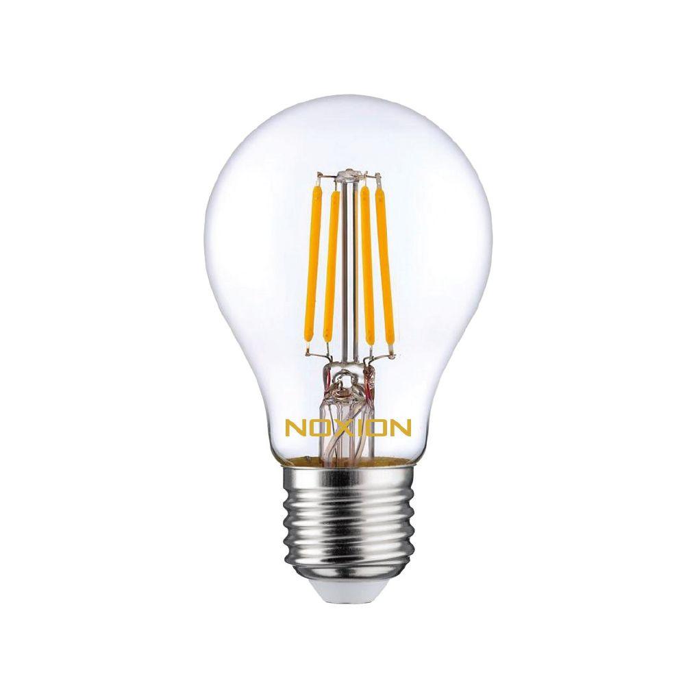 Noxion Lucent con Filamento LED Bulb 4.5W 827 A60 E27 Clara   Luz muy Cálida - Reemplazo 40W