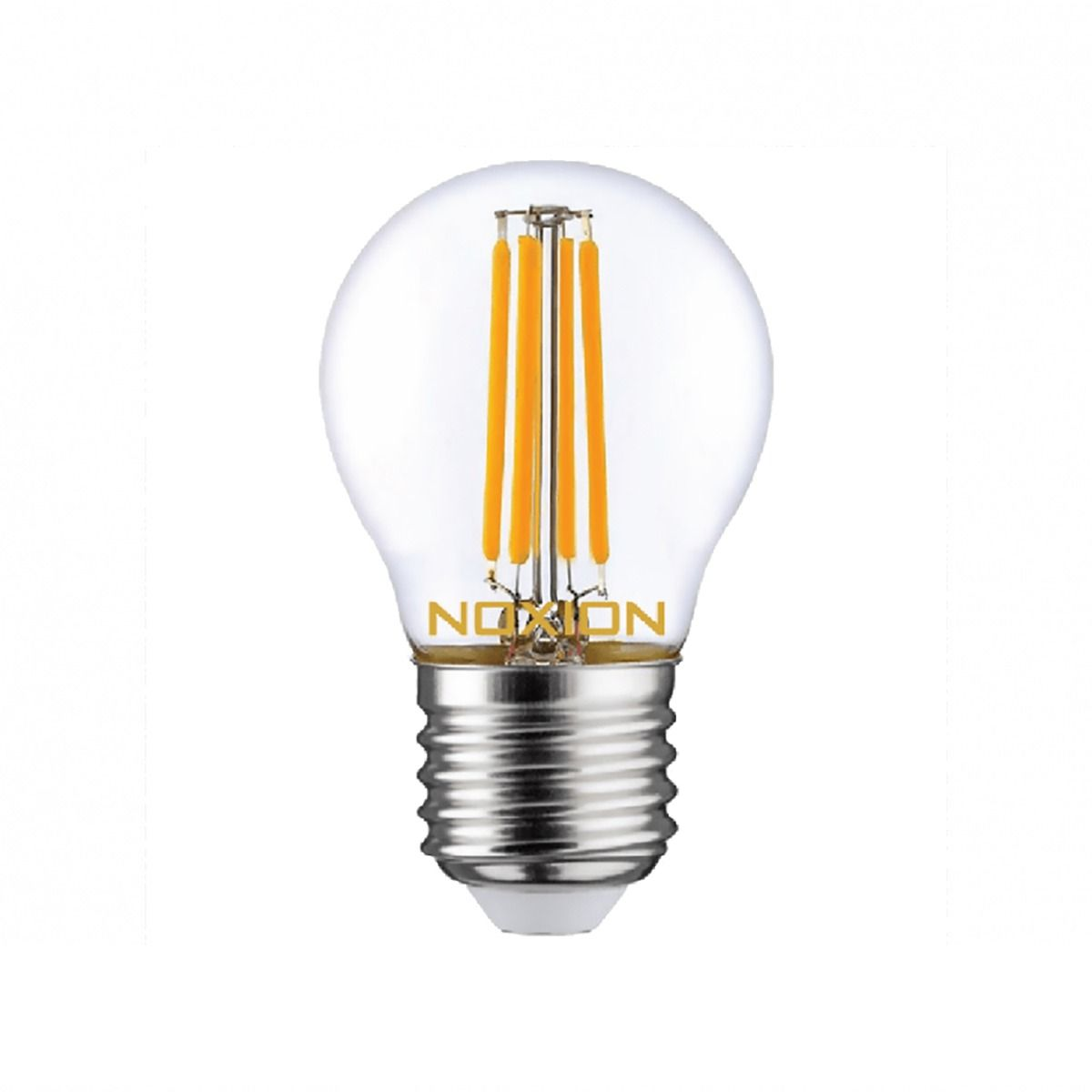 Noxion Lucent con Filamento LED Lustre 4.5W 827 P45 E27 Clara | Luz muy Cálida - Reemplazo 40W