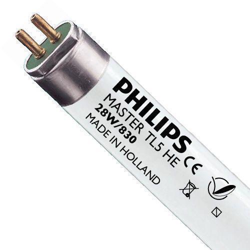 Philips TL5 HE 28W 830 (MASTER) | 115cm - Luz Cálida