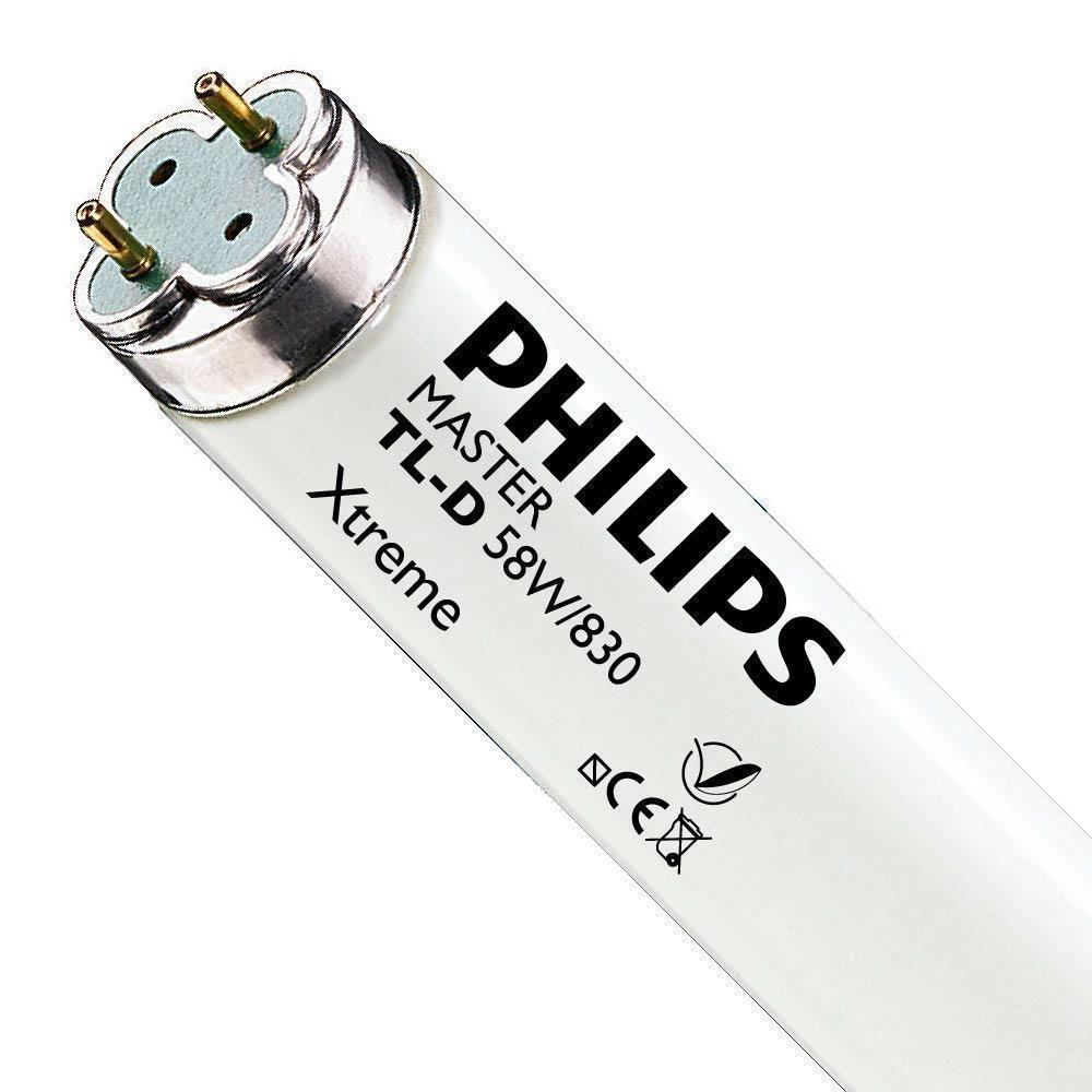 Philips TL-D Xtreme 58W 830 (MASTER) | 150cm - Luz Cálida