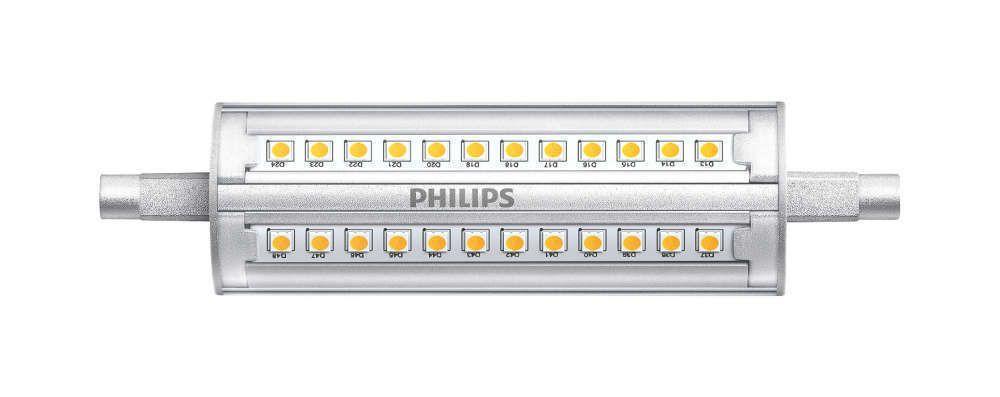 Philips CorePro R7s 14W 830 118mm | Regulable - Reemplazo 100W