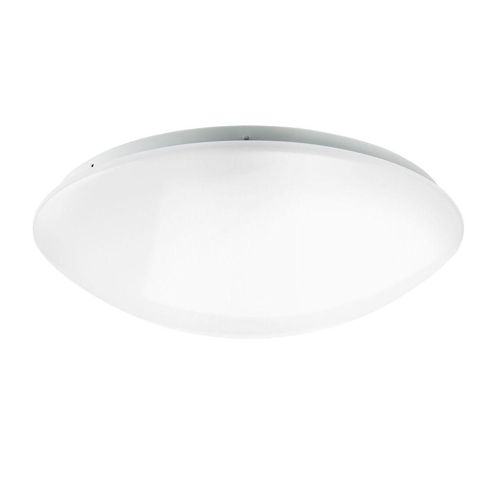 Noxion Plafón LED Techo/Pared Corido IP44 4000K 22W | con Sensor - Reemplazo 2x26W