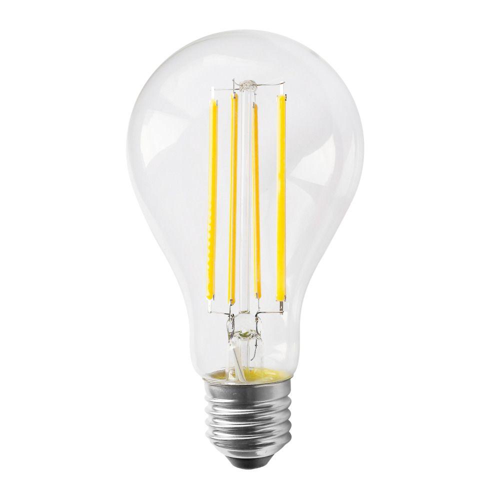 Noxion Lucent Classic LED con Filamento A70 E27 12W 827 Clara | Luz muy Cálida - Reemplazo 100W