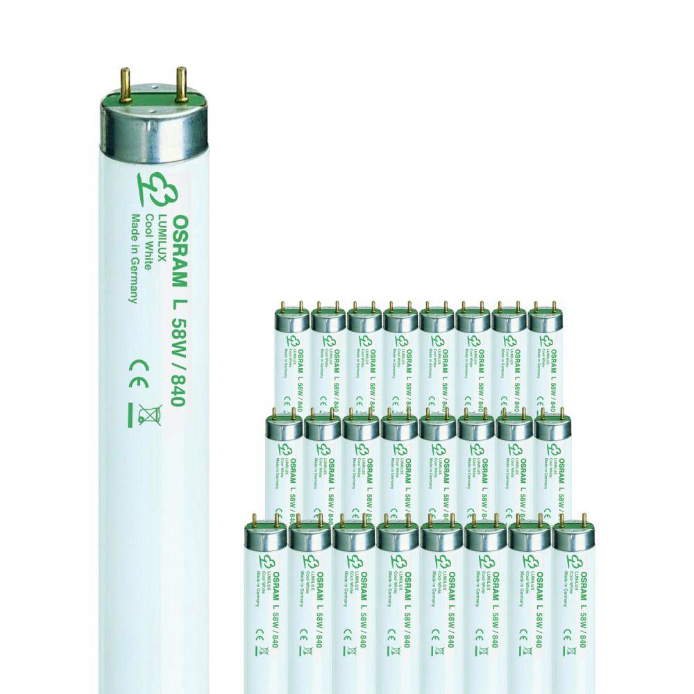 Multipack 25x Osram L 58W/840 FLH1