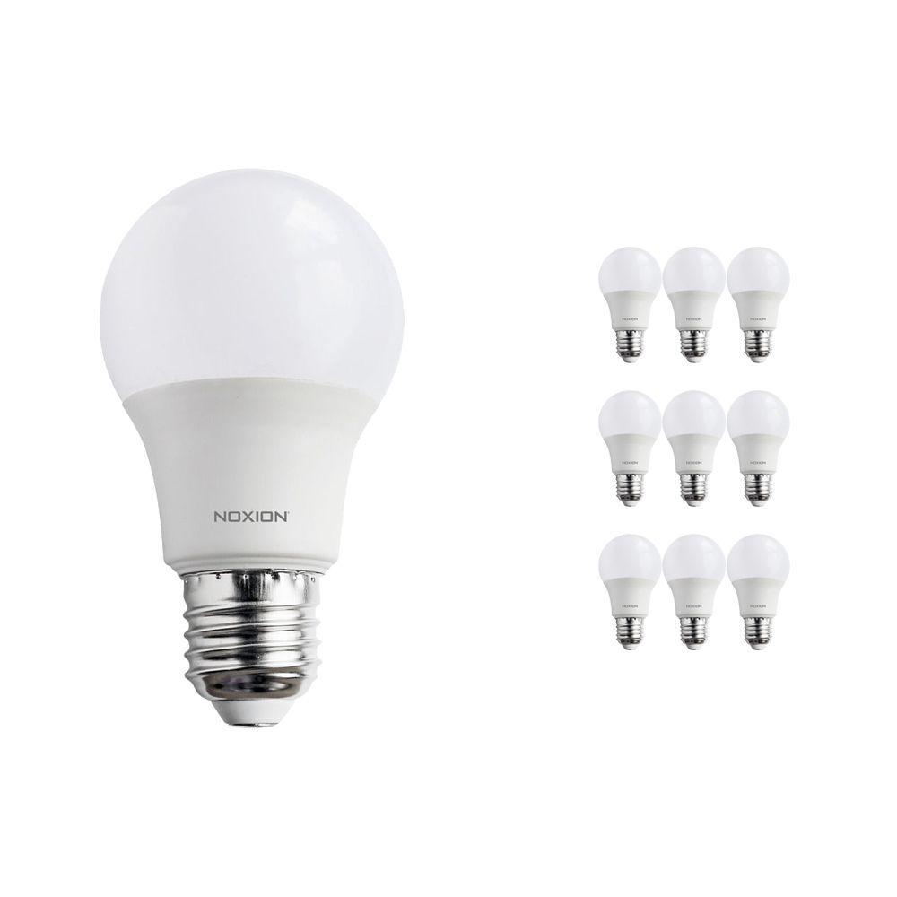 Multipack 10x Noxion PRO LED Bulb A60 E27 7W 822-827 Mate | Regulable - Luz muy Cálida - Reemplazo 40W