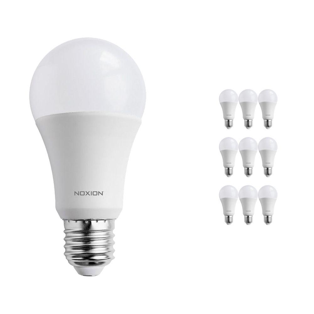 Multipack 10x Noxion PRO LED Bulb A60 E27 15W 827 Mate   Luz muy Cálida - Reemplazo 100W