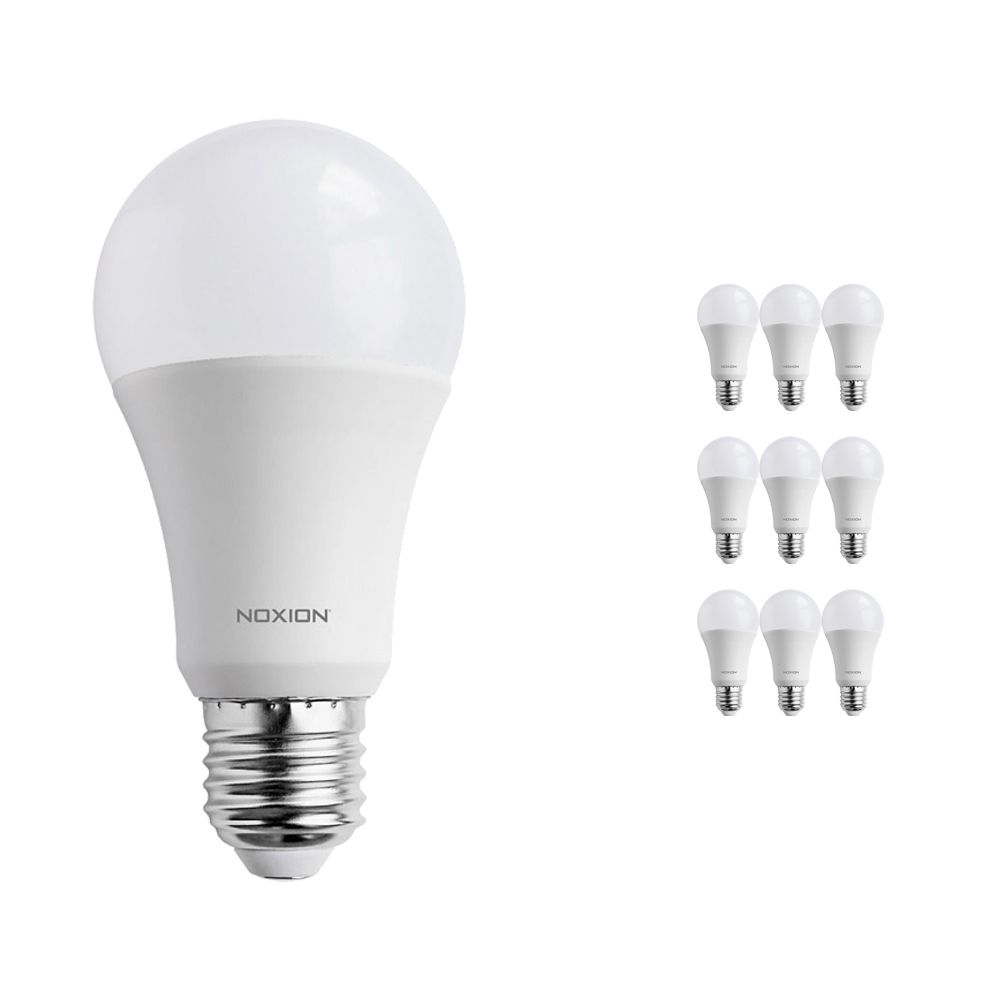 Multipack 10x Noxion PRO LED Bulb A60 E27 15W 840 Mate | Blanco Frio - Reemplazo 100W