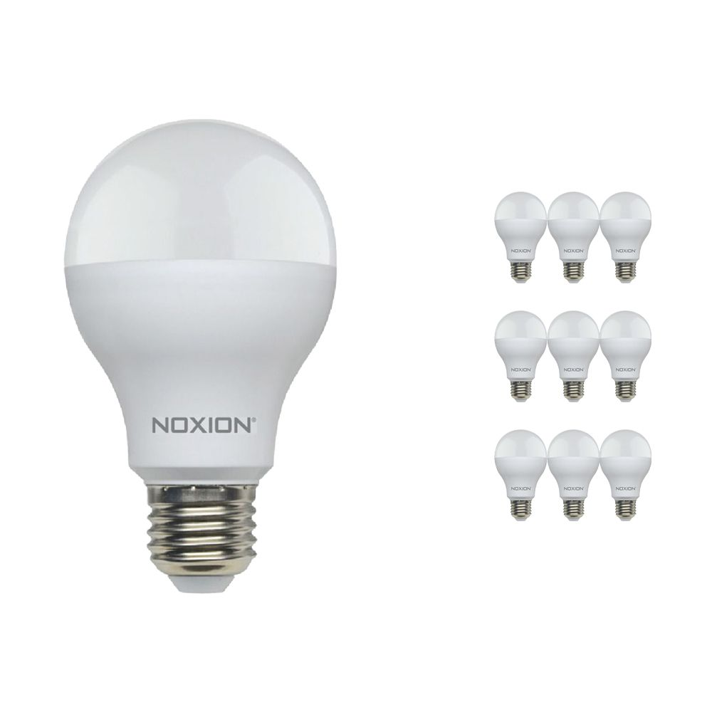 Multipack 10x Noxion Lucent LED Classic 14W 840 A60 E27 | Blanco Frio - Reemplazo 100W
