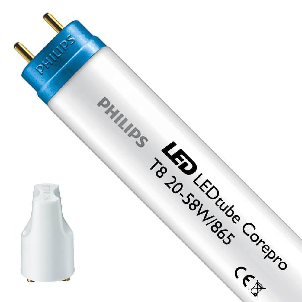 Philips CorePro LEDtube EM 20W 865 150cm | Luz de Día - Cebador LED incl. - Reemplazo 58W