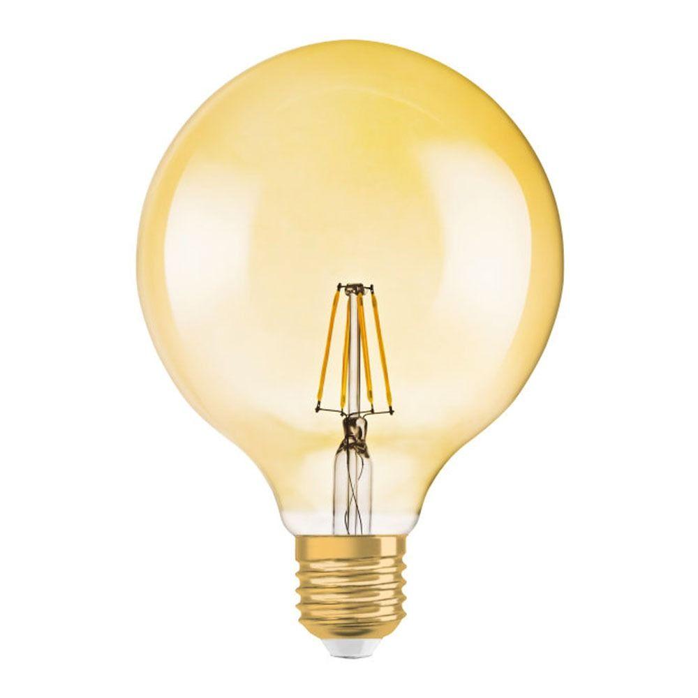 Osram Vintage 1906 LED E27 Globe 4W 824 Oro   Reemplazo 35W