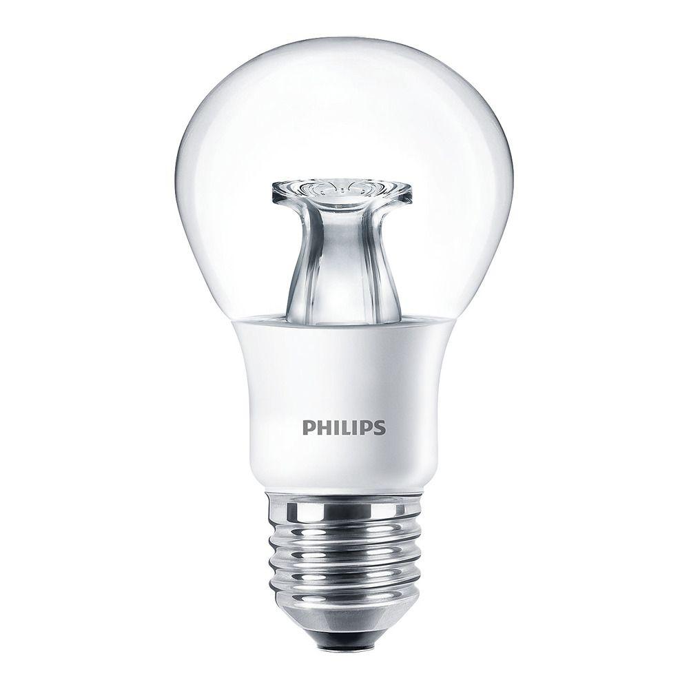 Philips LEDbulb E27 A60 6W 827 Claro (MASTER) | DimTone Regulable - Reemplazo 40W