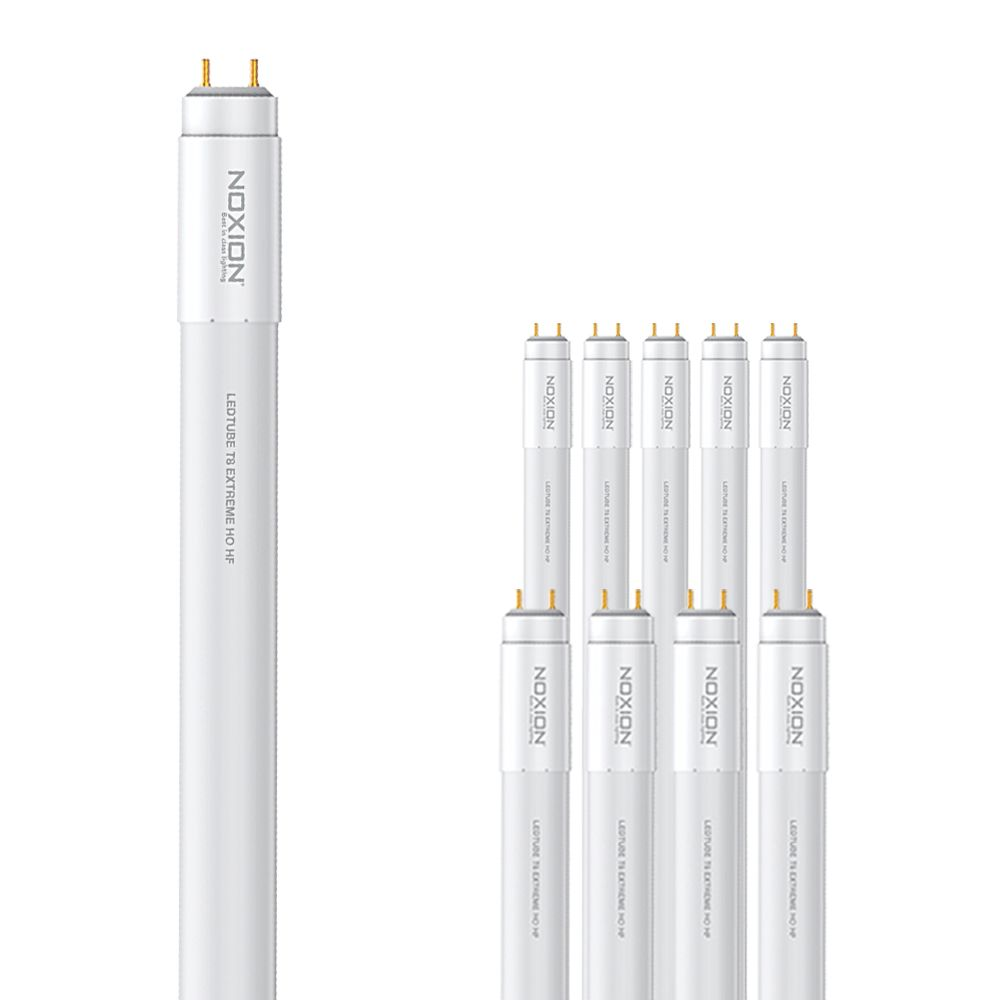 Multipack 10x Noxion Avant LEDtube T8 Extreme HO HF 150cm 20W 840 | Blanco Frio - Reemplazo 58W