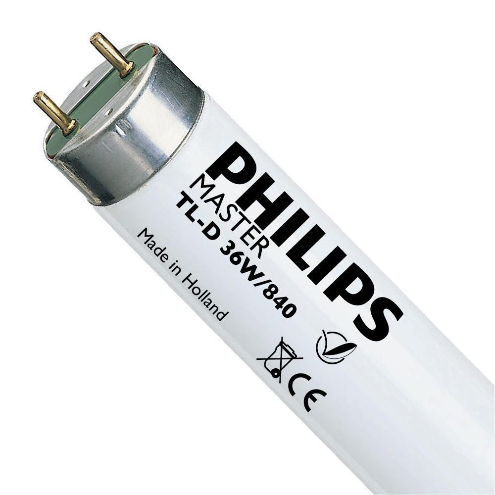 Philips TL-D 36W-1 840 Super 80 (MASTER)   97cm - Blanco Frio
