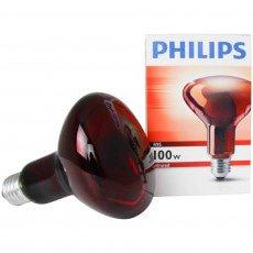 Philips R95 IR 100W E27 230V Rojo