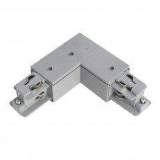 Conector trifásico esquina 90D V - externo - Metal
