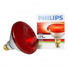Philips PAR38 IR 175W E27 230V Rojo