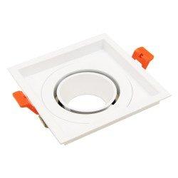Ring 85mm para Aron Spot - Blanco - Cuadrado Inclinable