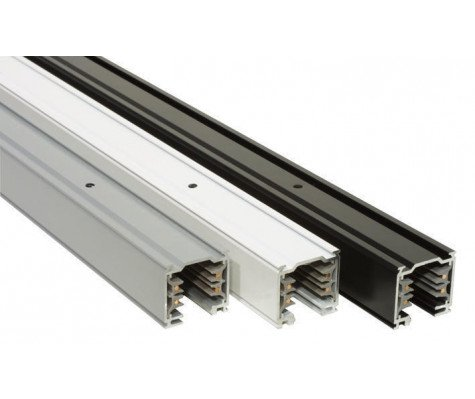 Carril de luz trifásico - 1m - Blanco