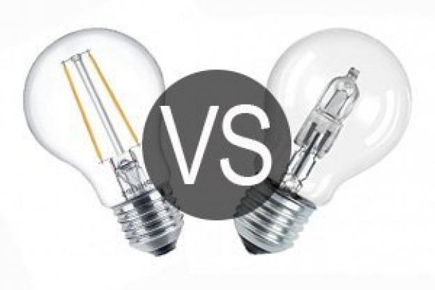 Comparativa LED vs Halógena