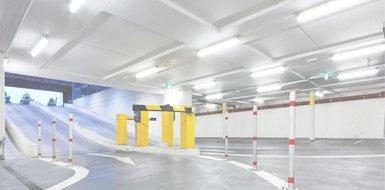 Iluminación para áreas de parking