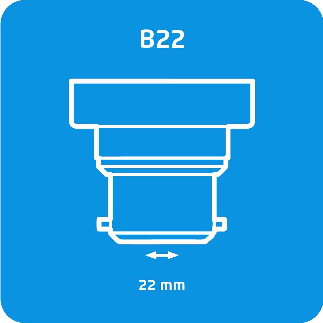 Casquillo B22