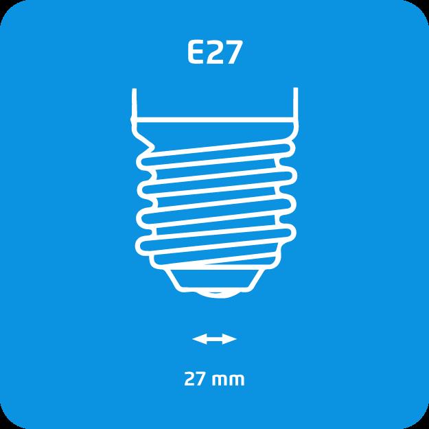 Philips Bombilla Incandescente E27