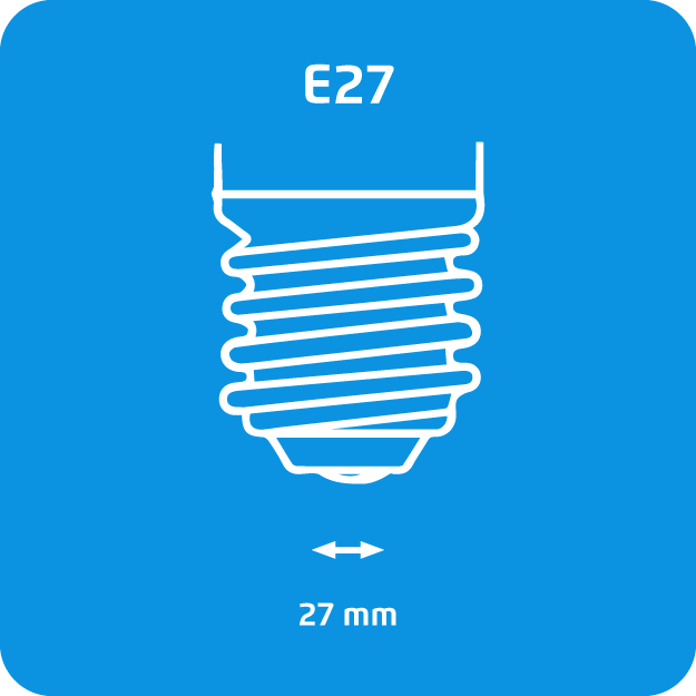 Rosca gruesa E27